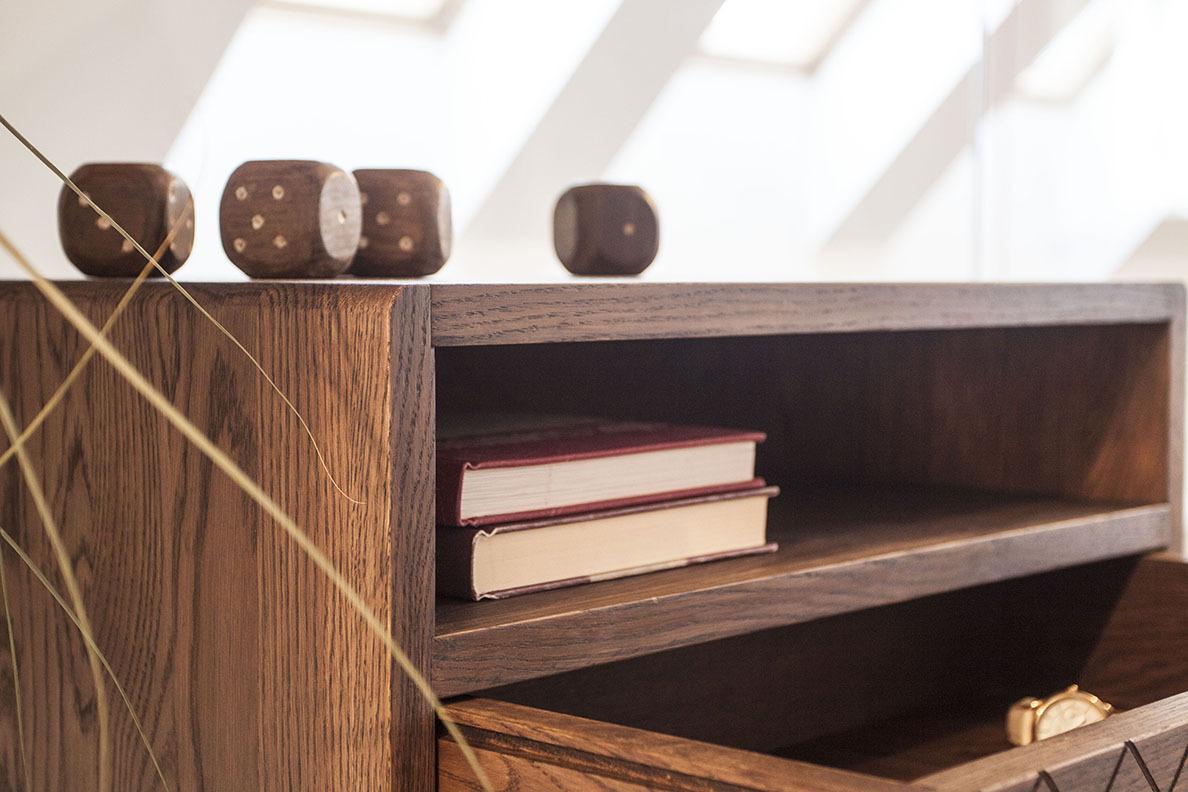 Öökapp-Väike-kapp-Sahtliga-kapp-Täispuit-Nightstand-Bedside-Table-Mid-Century-1