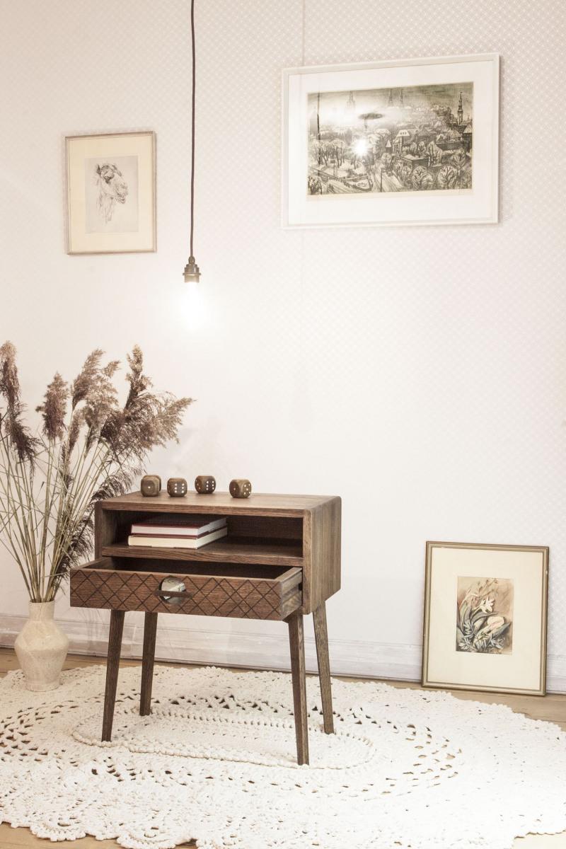 Öökapp-Väike-kapp-Sahtliga-kapp-Täispuit-Nightstand-Bedside-Table-Mid-Century-16
